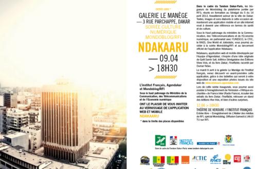 Article : Tandem Dakar – Paris : Lancement de l'application culturelle NDakaaru